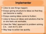 implementer