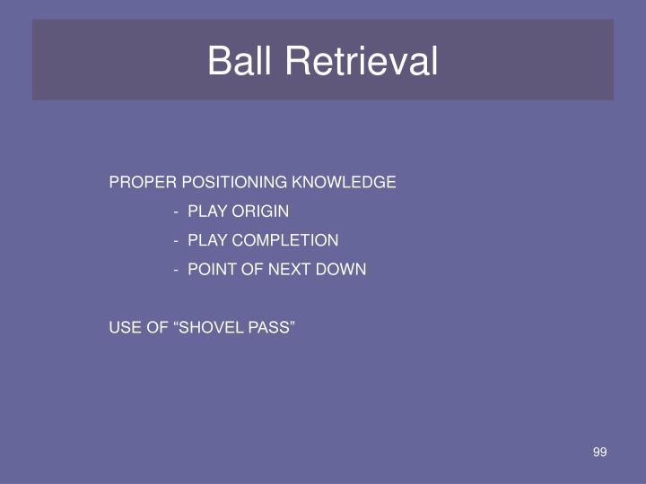 Ball Retrieval