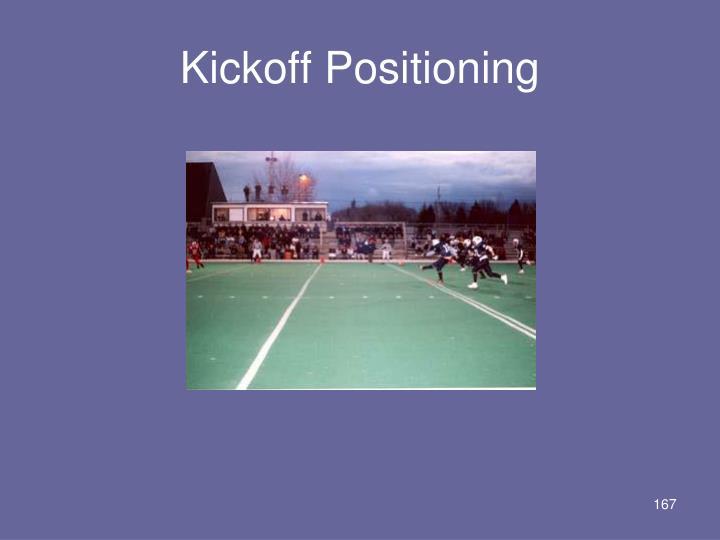 Kickoff Positioning
