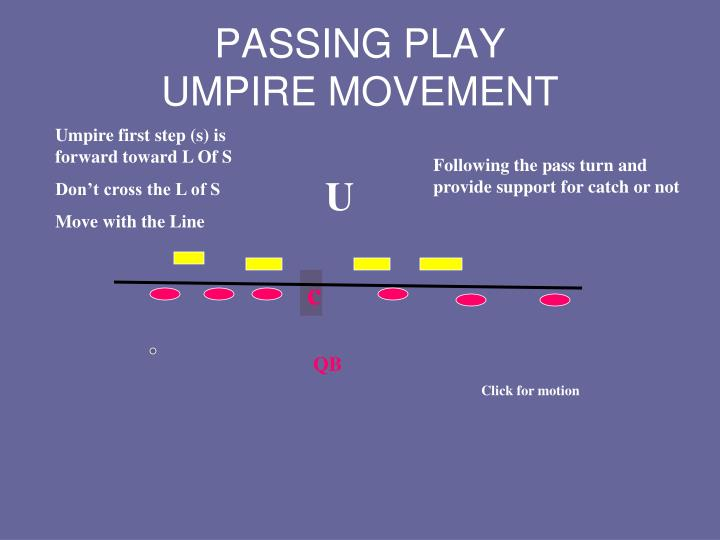 PASSING PLAY