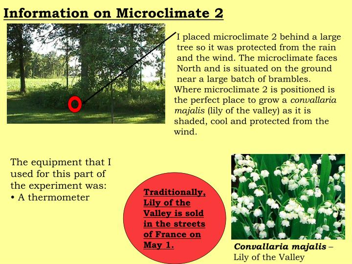 Information on Microclimate 2