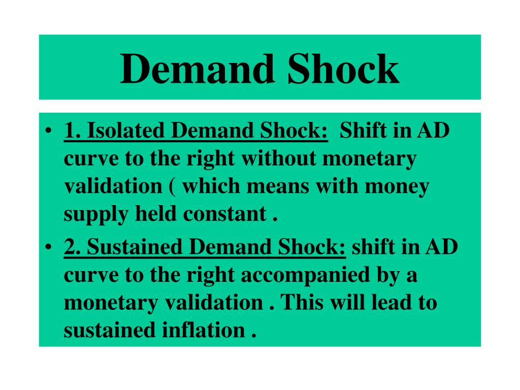 Demand Shock