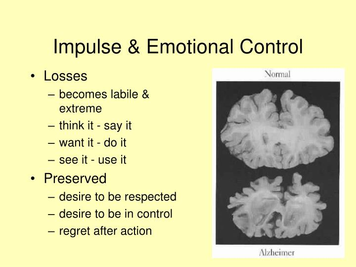 Impulse & Emotional Control