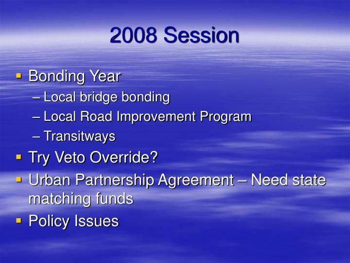 2008 Session