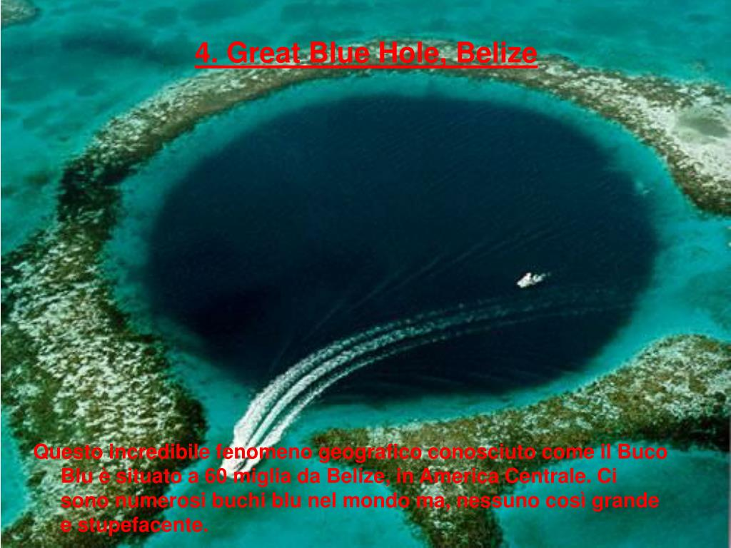 4. Great Blue Hole, Belize
