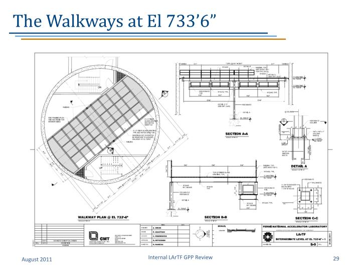 The Walkways at El 733'6""