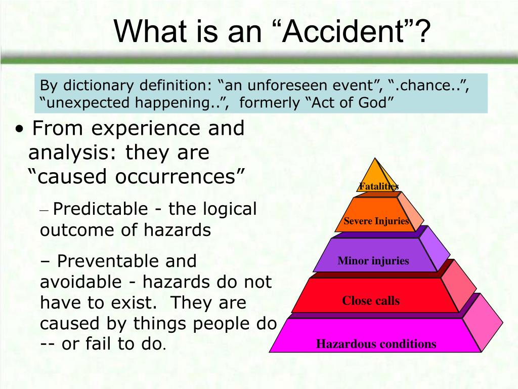 """What is an """"Accident""""?"""
