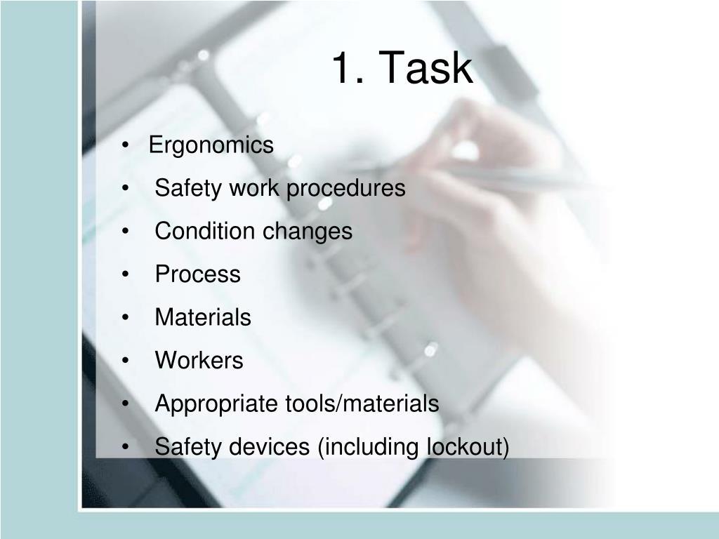 1. Task
