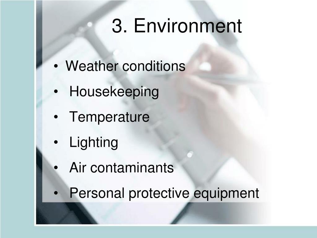 3. Environment
