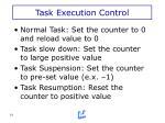 task execution control1