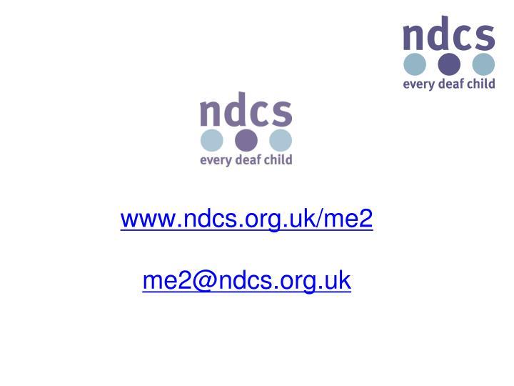 www.ndcs.org.uk/me2