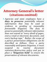 attorney general s letter citations omitted