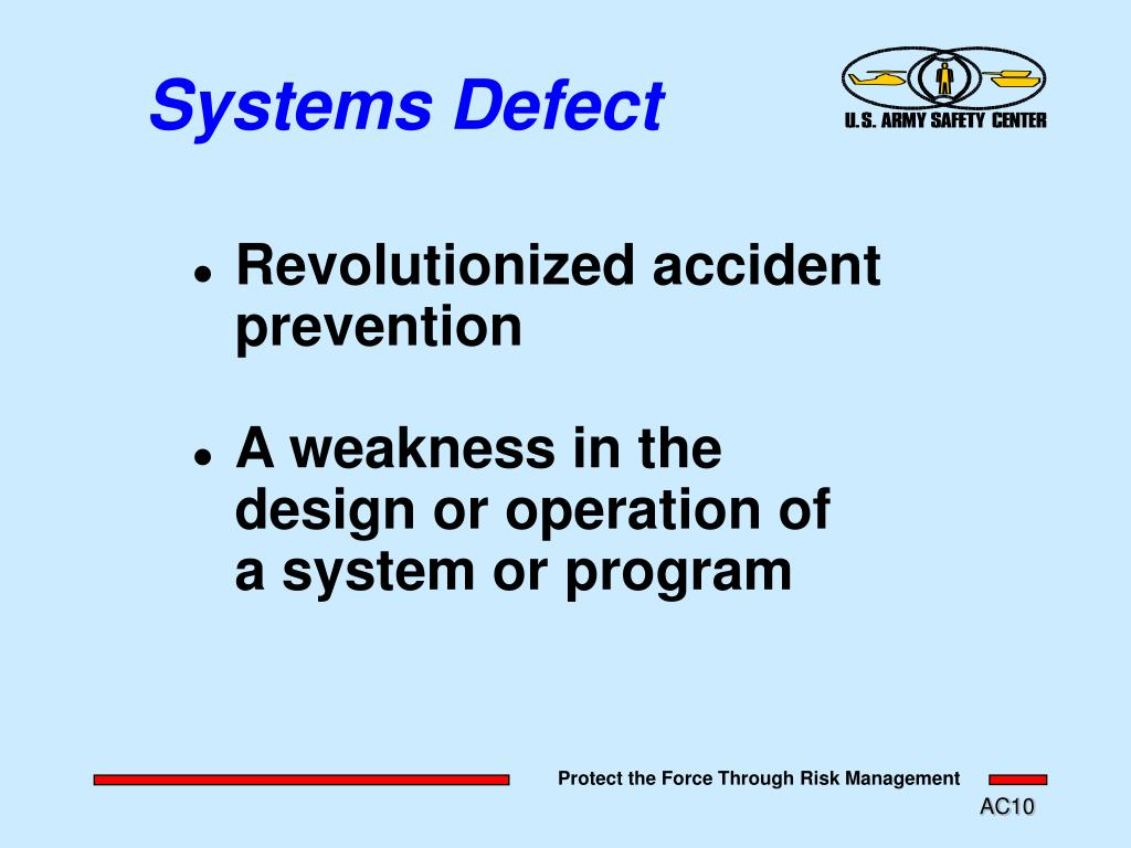 Systems Defect