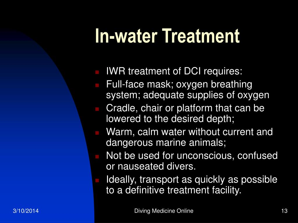 In-water Treatment