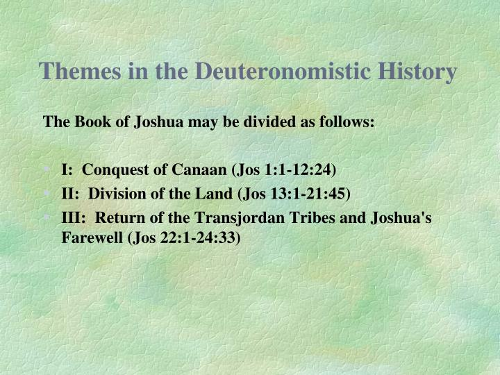 Themes in the Deuteronomistic History