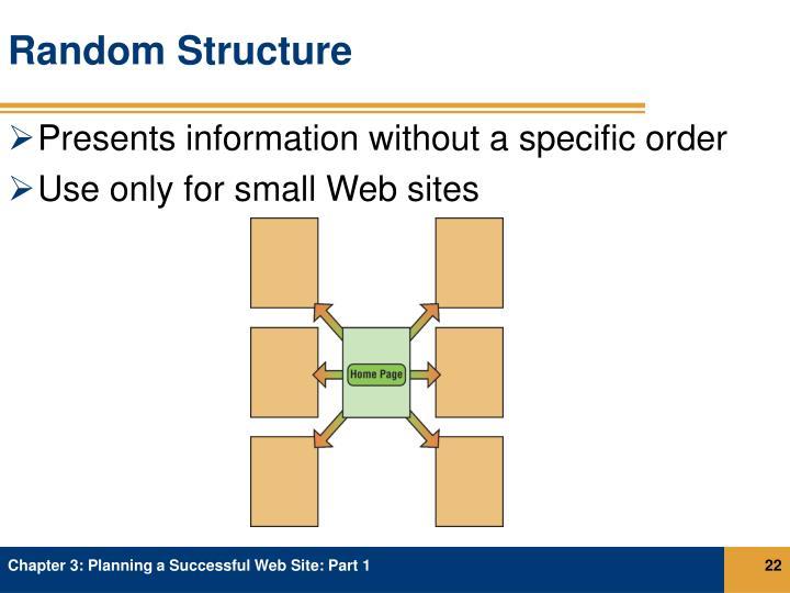 Random Structure