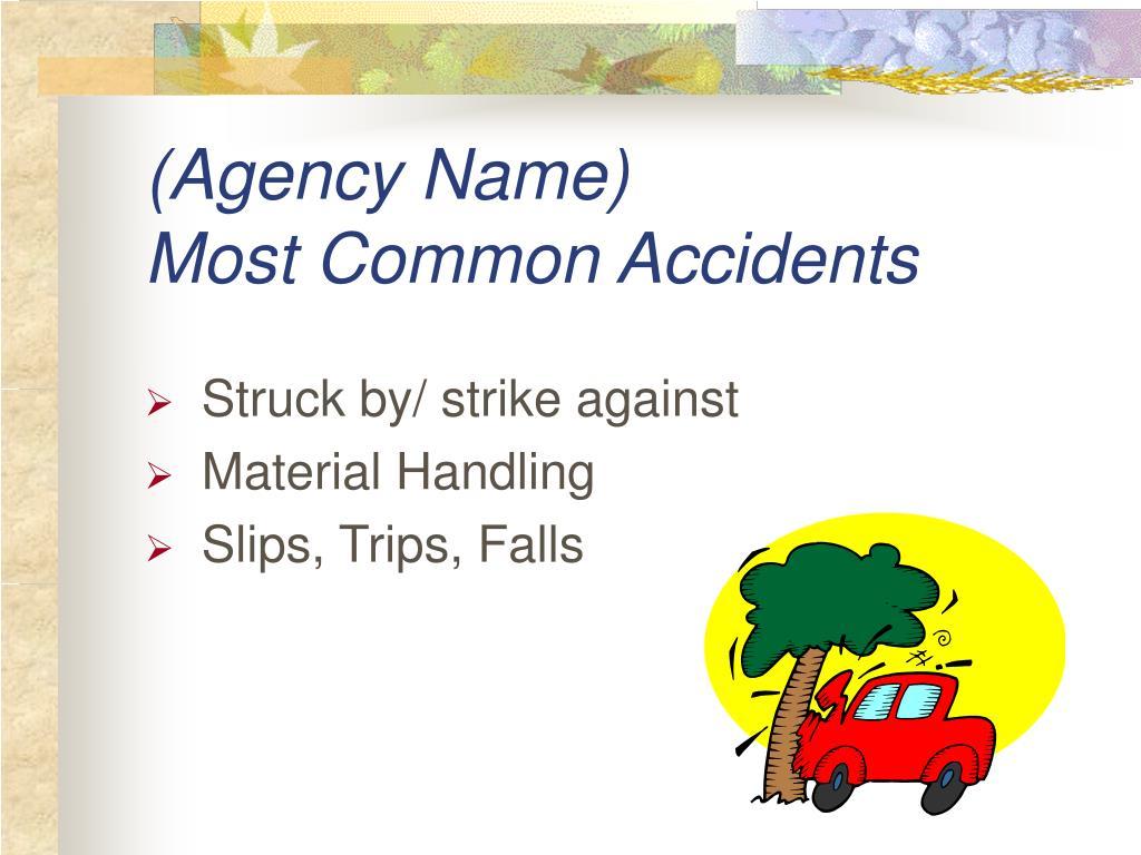 (Agency Name)
