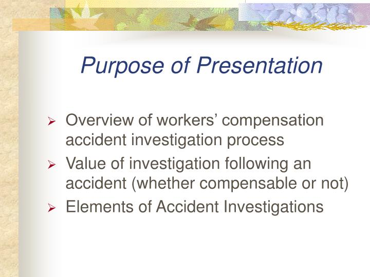 Purpose of presentation l.jpg