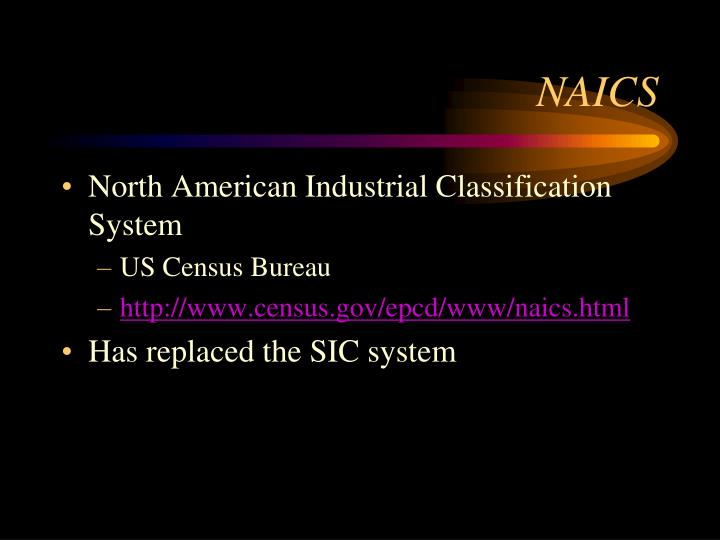 NAICS