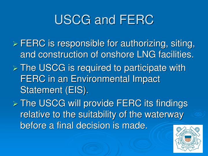 USCG and FERC
