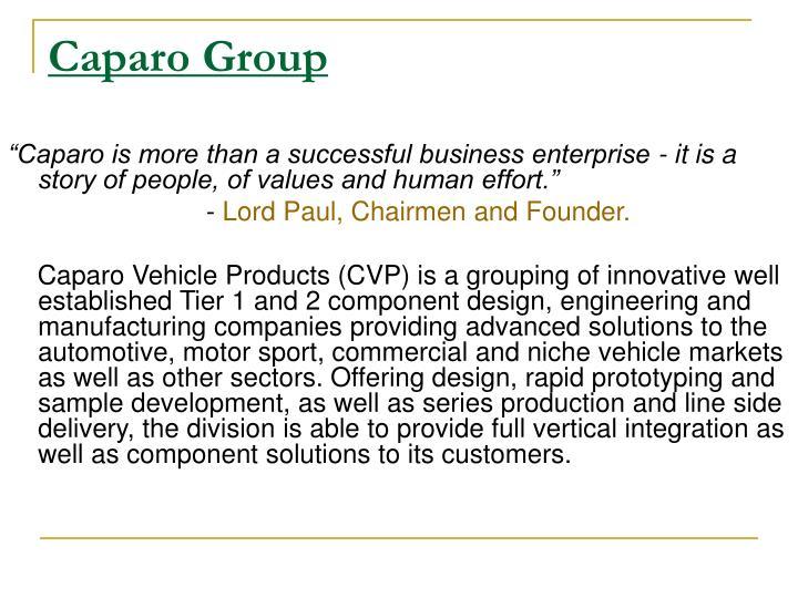 Caparo Group