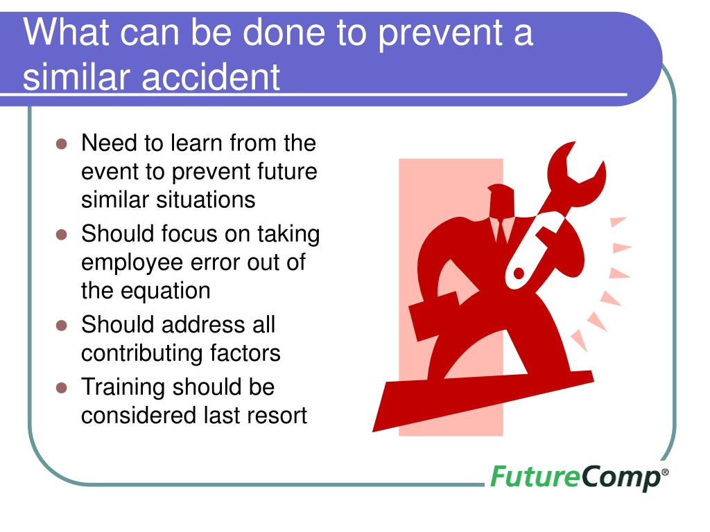 What can be done to prevent a similar accident