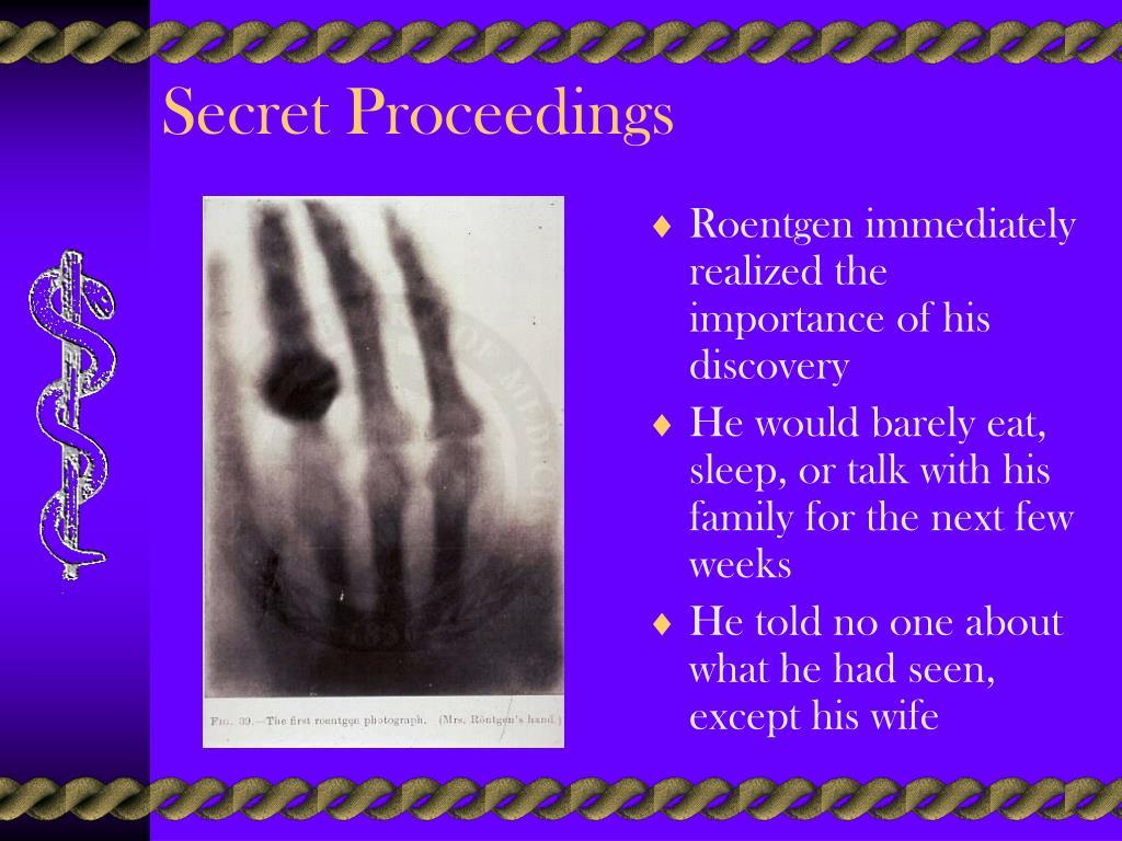 Secret Proceedings