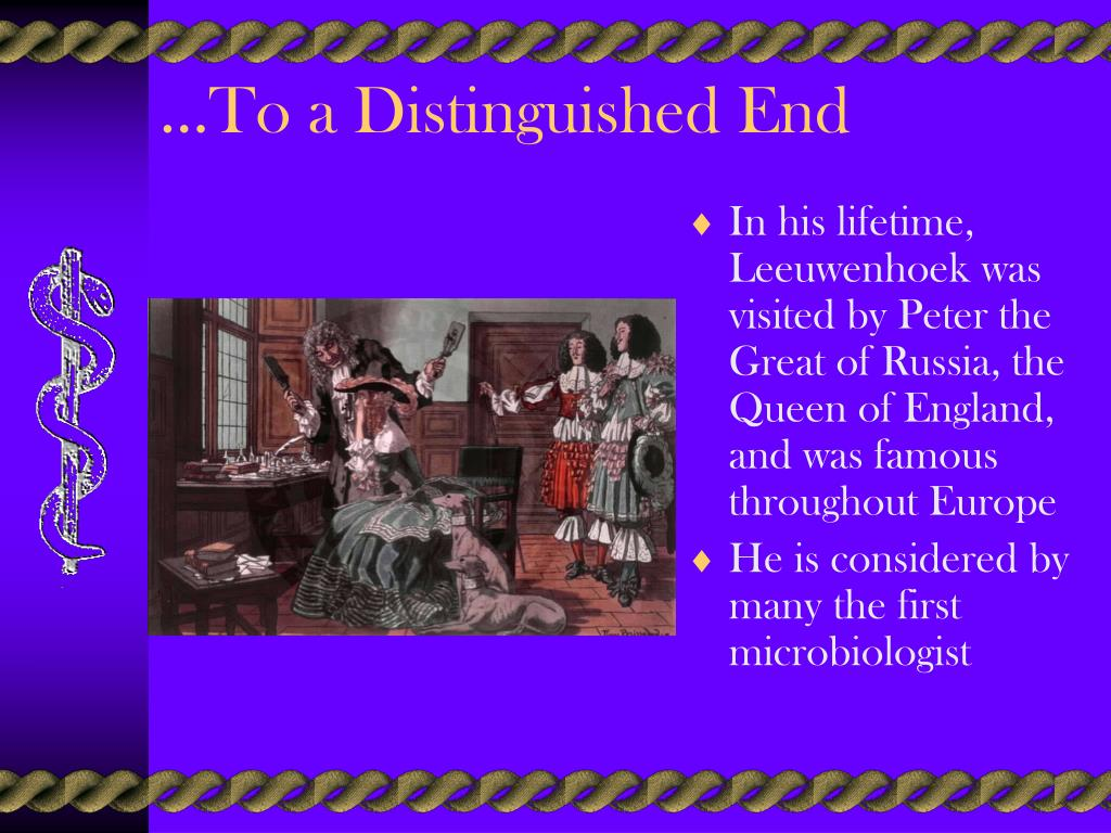 …To a Distinguished End