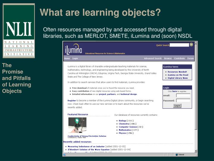 What are learning objects1