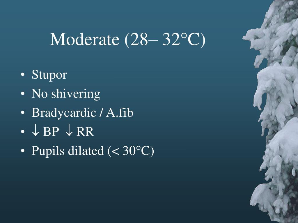 Moderate (28– 32