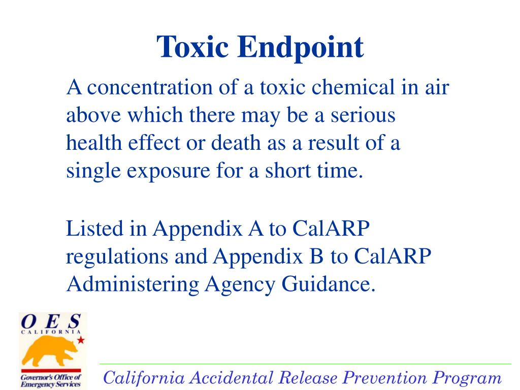 Toxic Endpoint