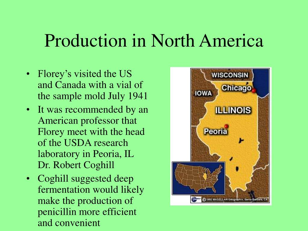 Production in North America