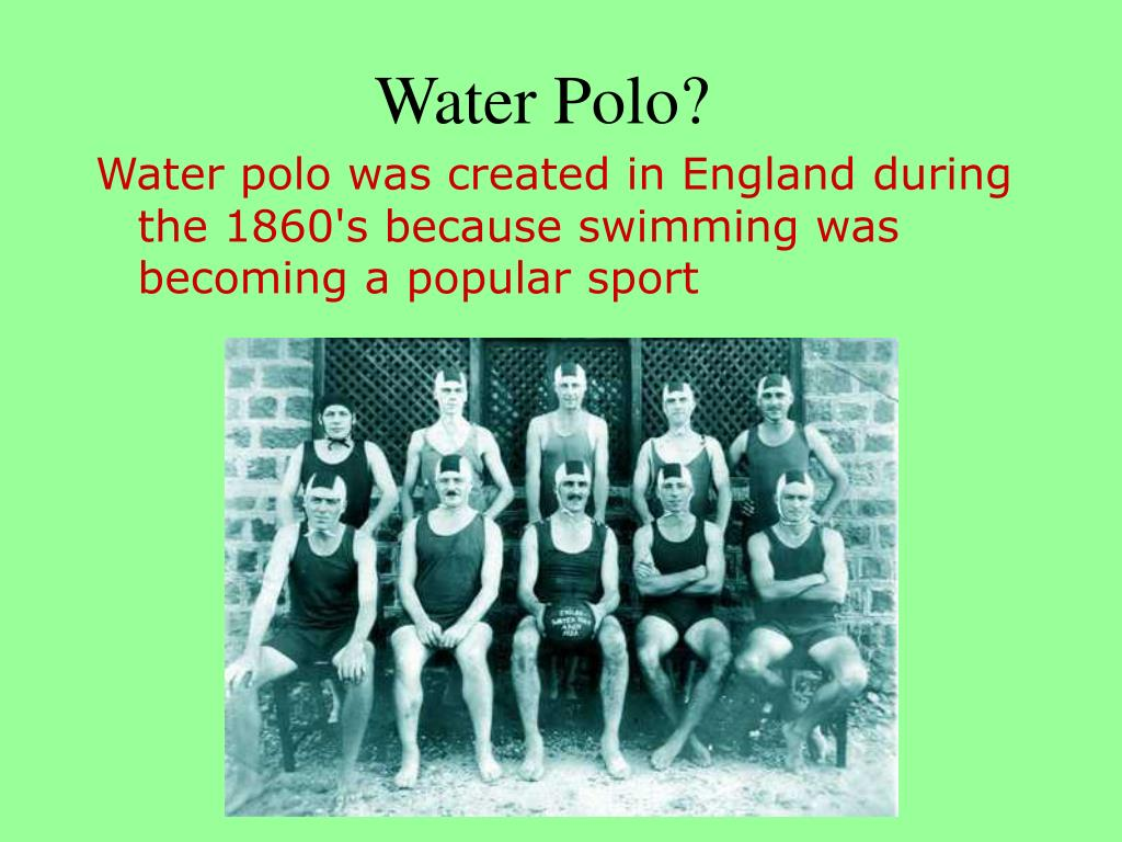 Water Polo?