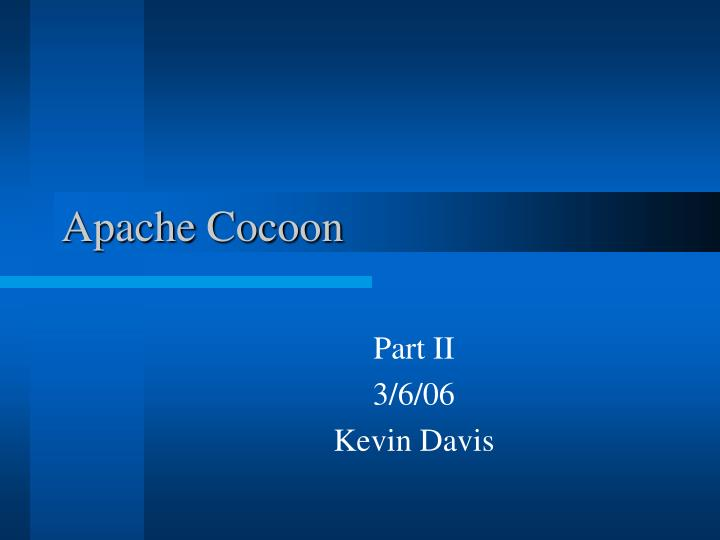 Apache cocoon