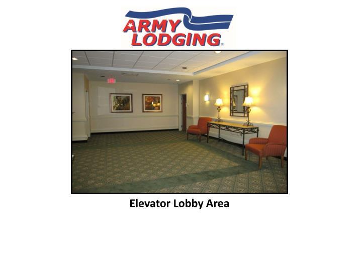 Elevator Lobby Area