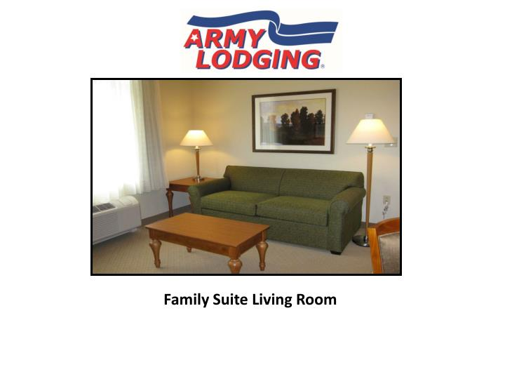 Family Suite Living Room