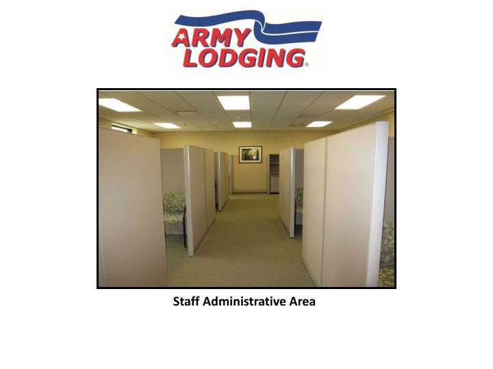 Staff Administrative Area