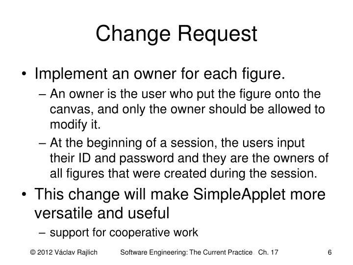 Change Request