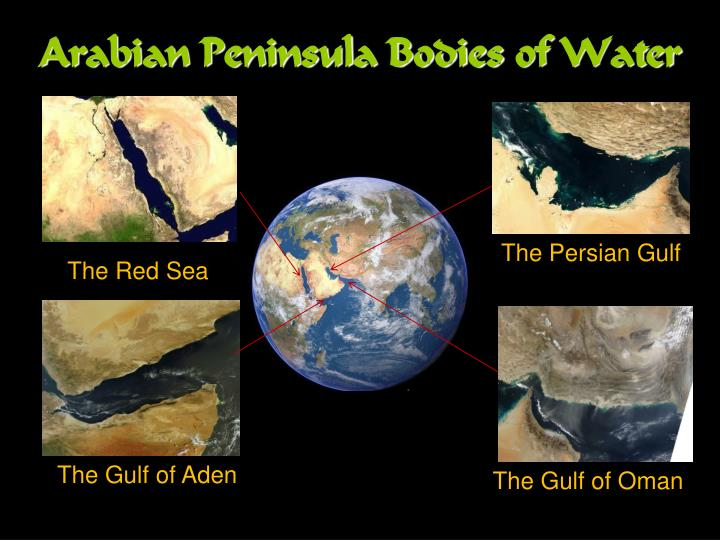 Arabian Peninsula Bodies