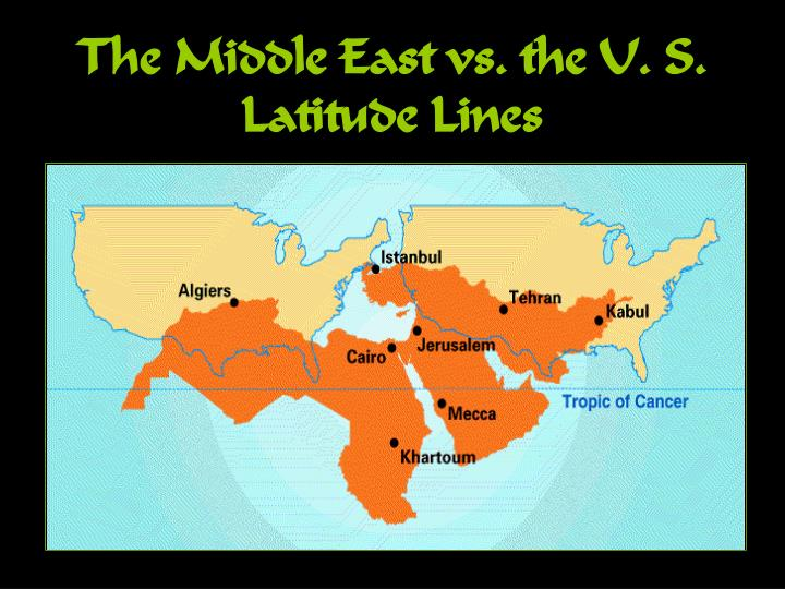 The Middle East vs. the U. S.