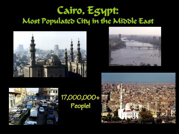 Cairo, Egypt: