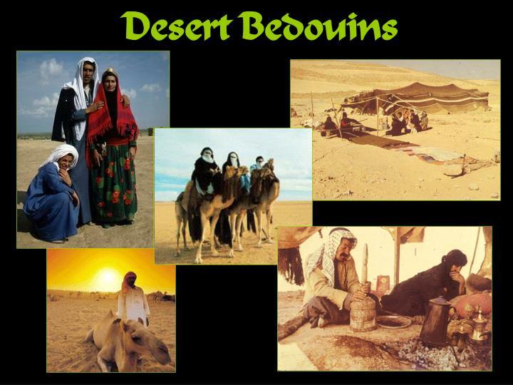 Desert Bedouins