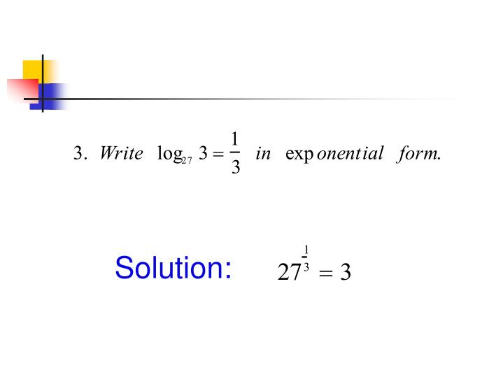 Rewrite Log In Exponential Form Logarithm Worksheet ...