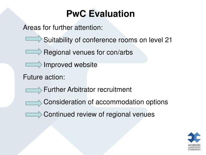 PwC Evaluation
