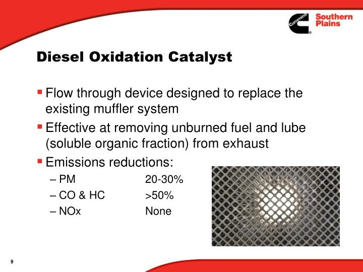 Diesel Oxidation Catalyst