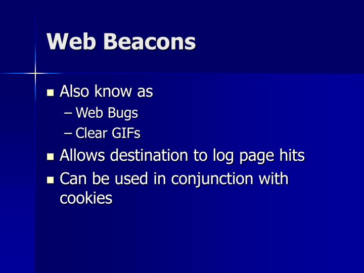 Web Beacons