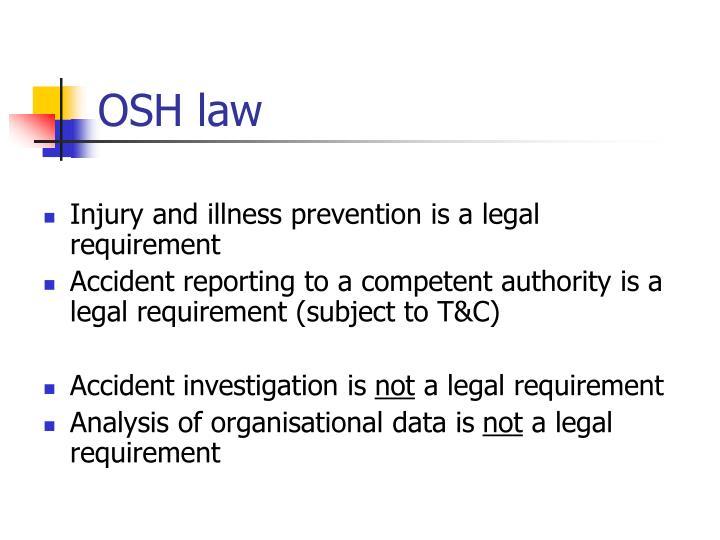 OSH law