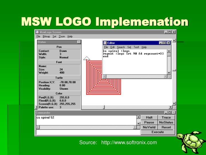 MSW LOGO Implemenation