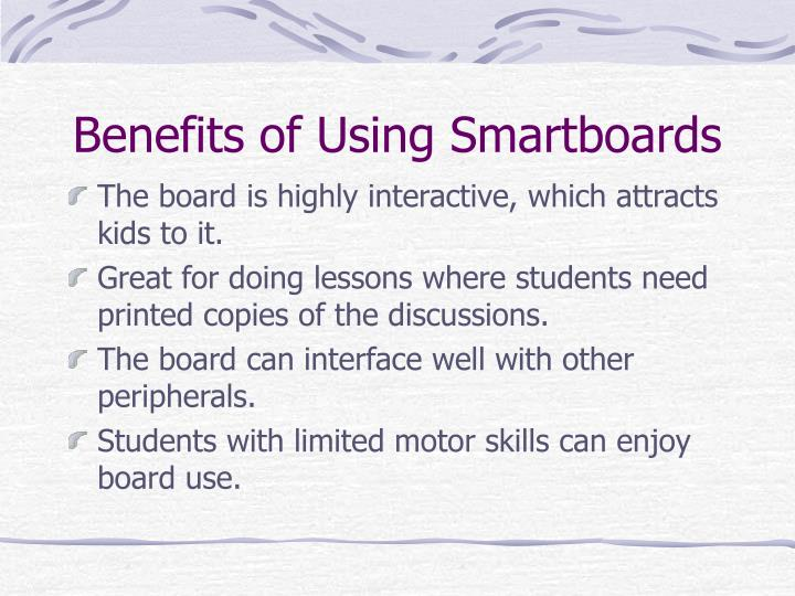 Benefits of Using Smartboards