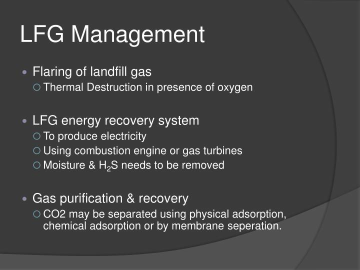 LFG Management